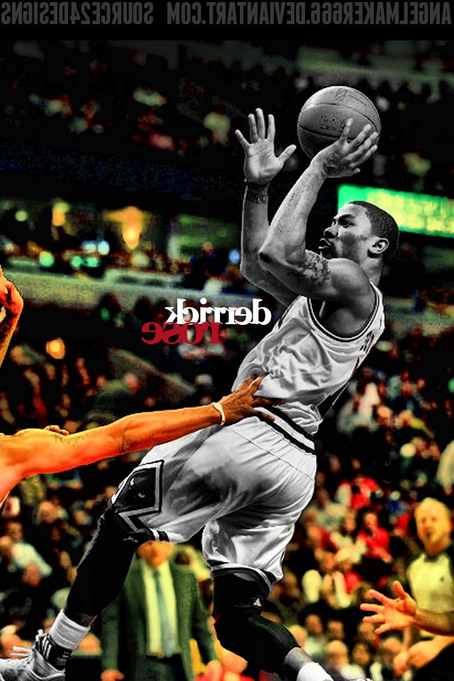derrick rose wallpaper iphone - photo #27