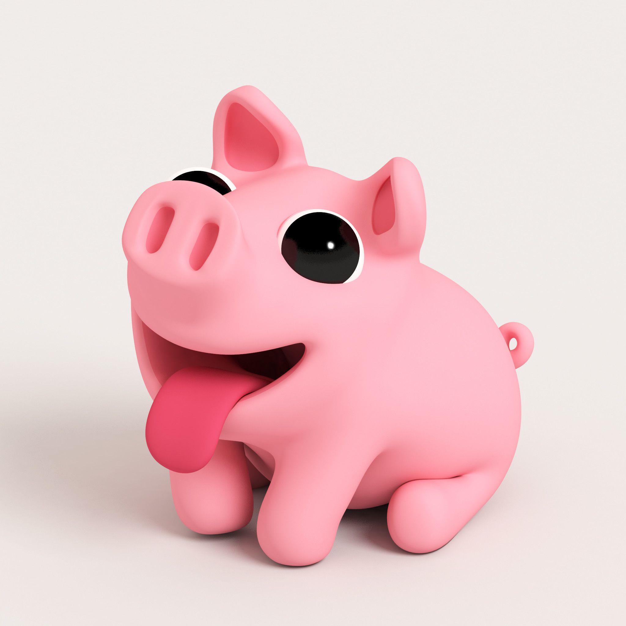 Cute Pig Wallpapers   Top Cute Pig Backgrounds   WallpaperAccess 2048x2048