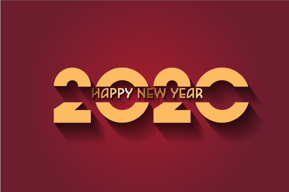 Happy New Year 2020 Wallpapers 1000x667