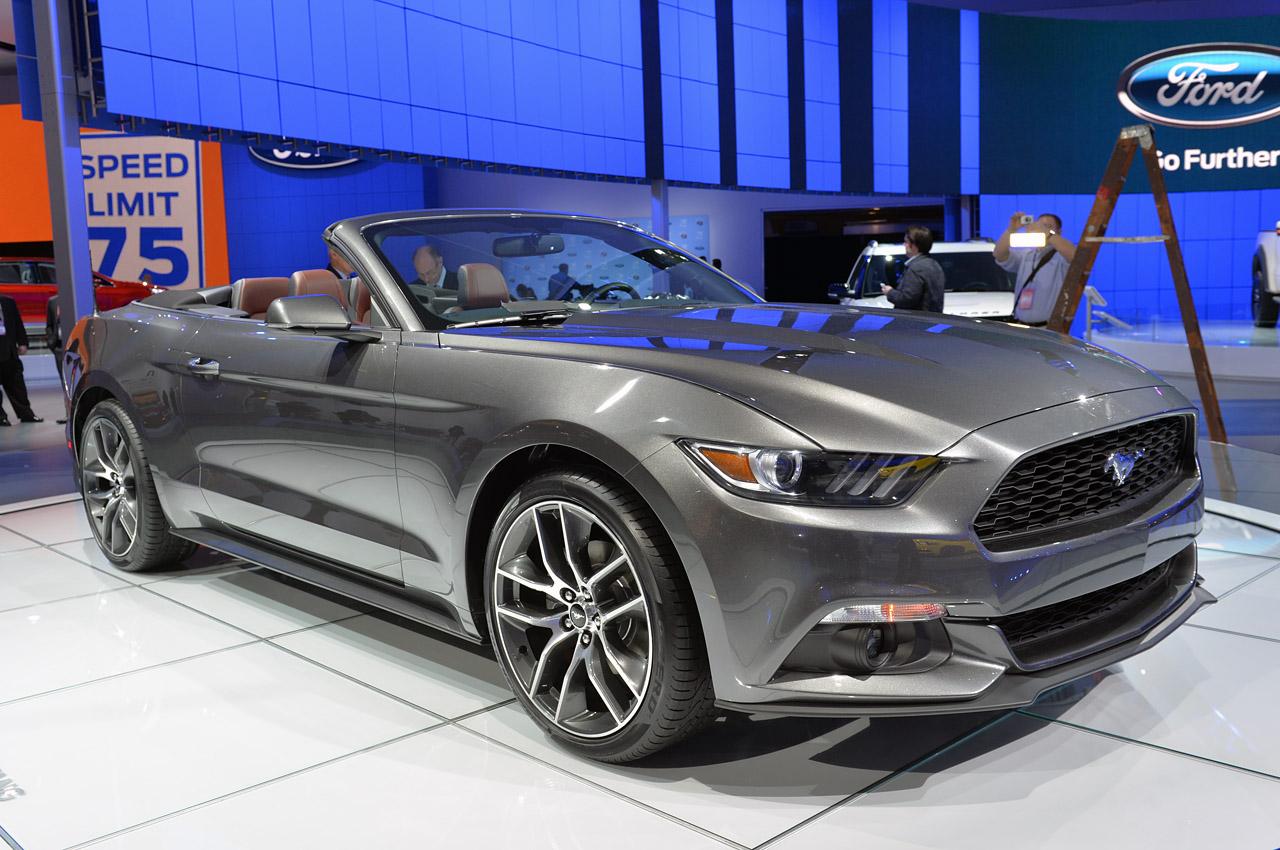 2015 Ford Mustang Convertible Full Desktop Backgrounds 1280x850
