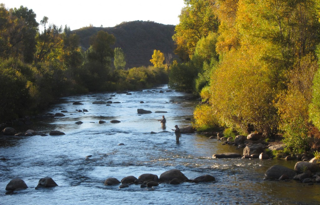Evening Fly Fishing on the Yampa Steamboat Springs Fly Fishing 1024x656