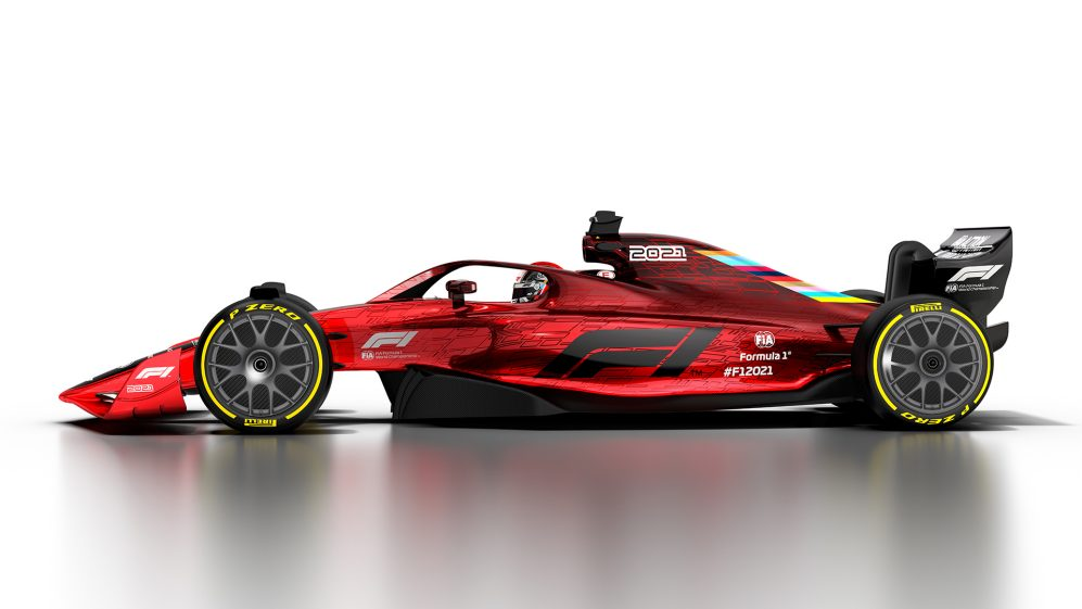 2021 F1 rules Gallery of images of the 2021 F1 car Formula 1 997x561