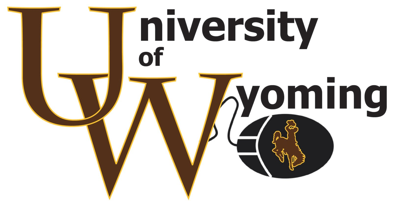 Designer University Of Wyoming Logo Recreation For Class Project 1600x842