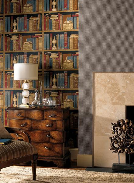 Hampton Wallpaper design by Ronald Redding BURKE DECOR 441x600