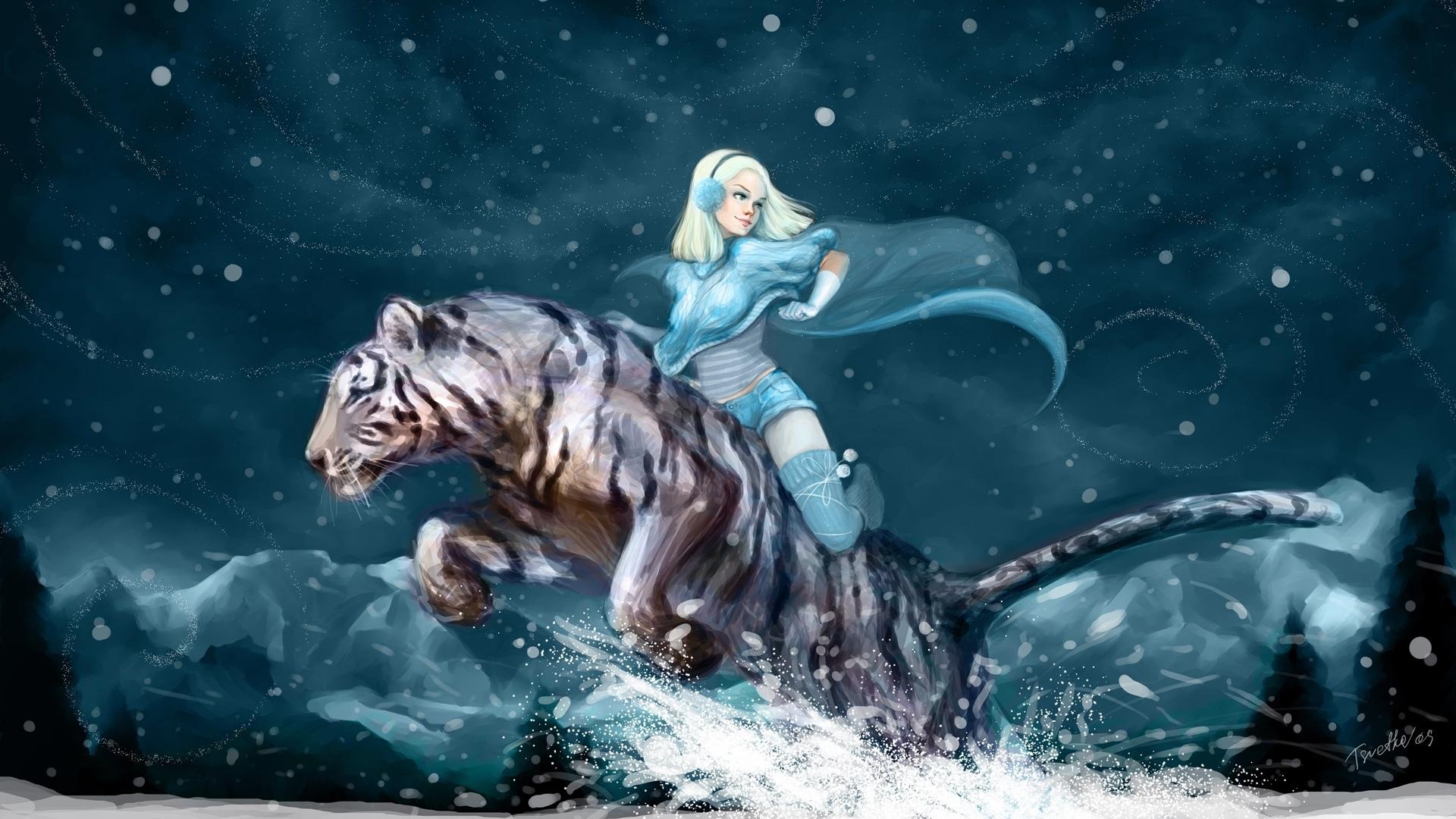 3D Tiger Wallpaper - WallpaperSafari
