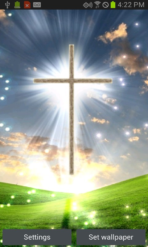 Heavenly Cross Live Wallpaper app download for Android 480x800