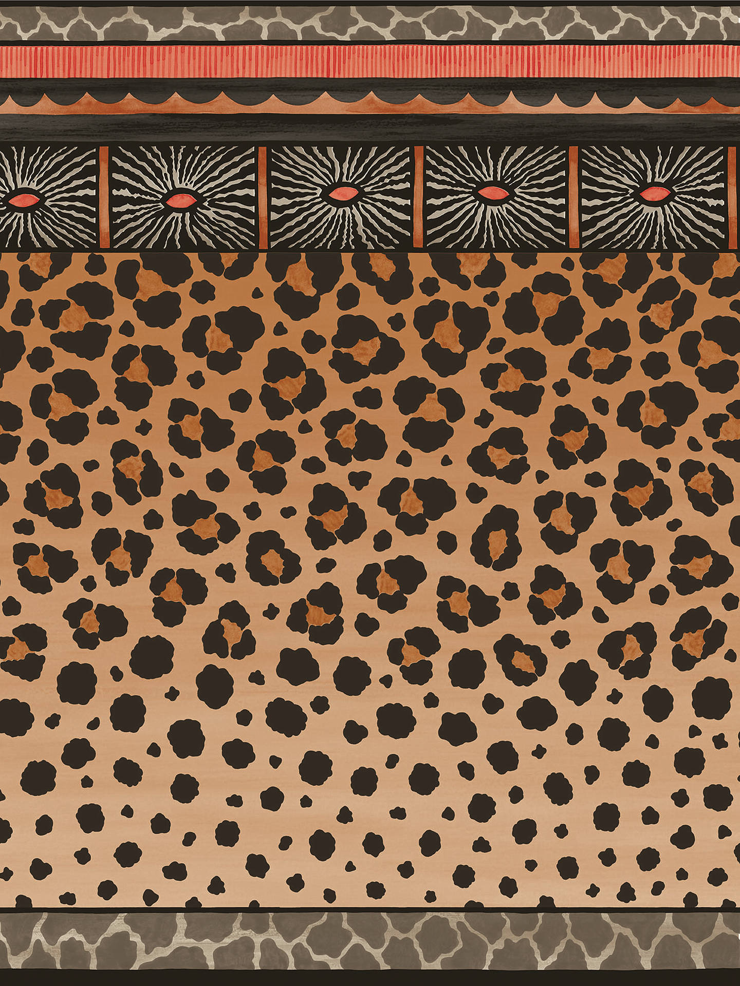 Cole Son Zulu Border Wallpaper at John Lewis Partners 1440x1920