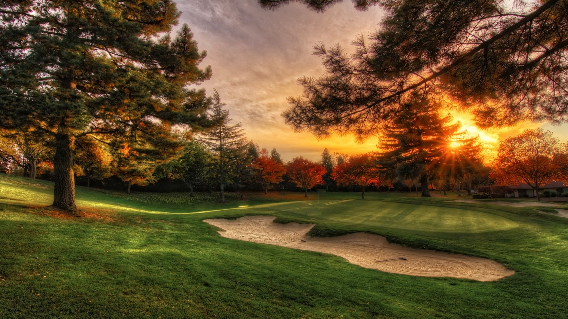Golf Course HD Wallpaper Golf Course Pictures Cool Wallpapers 1920x1080