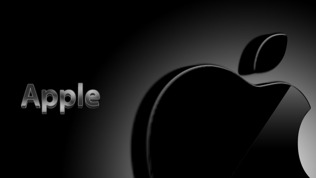 Apple Logo wallpaper 1280x720