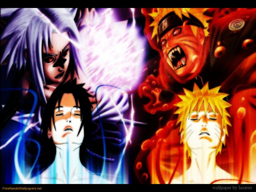 Naruto Vs Sasuke 609 Hd Wallpapers in Cartoons   Imagescicom 1024x768