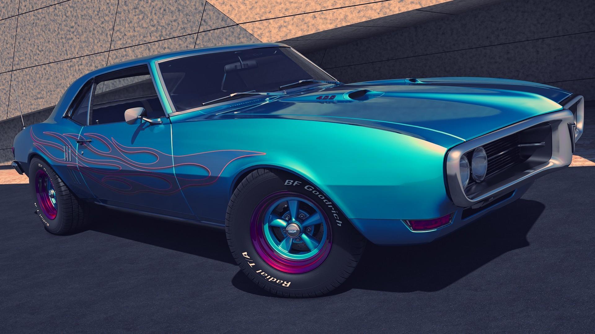 Cars pontiac firebird 1968 wallpaper 38478 1920x1080