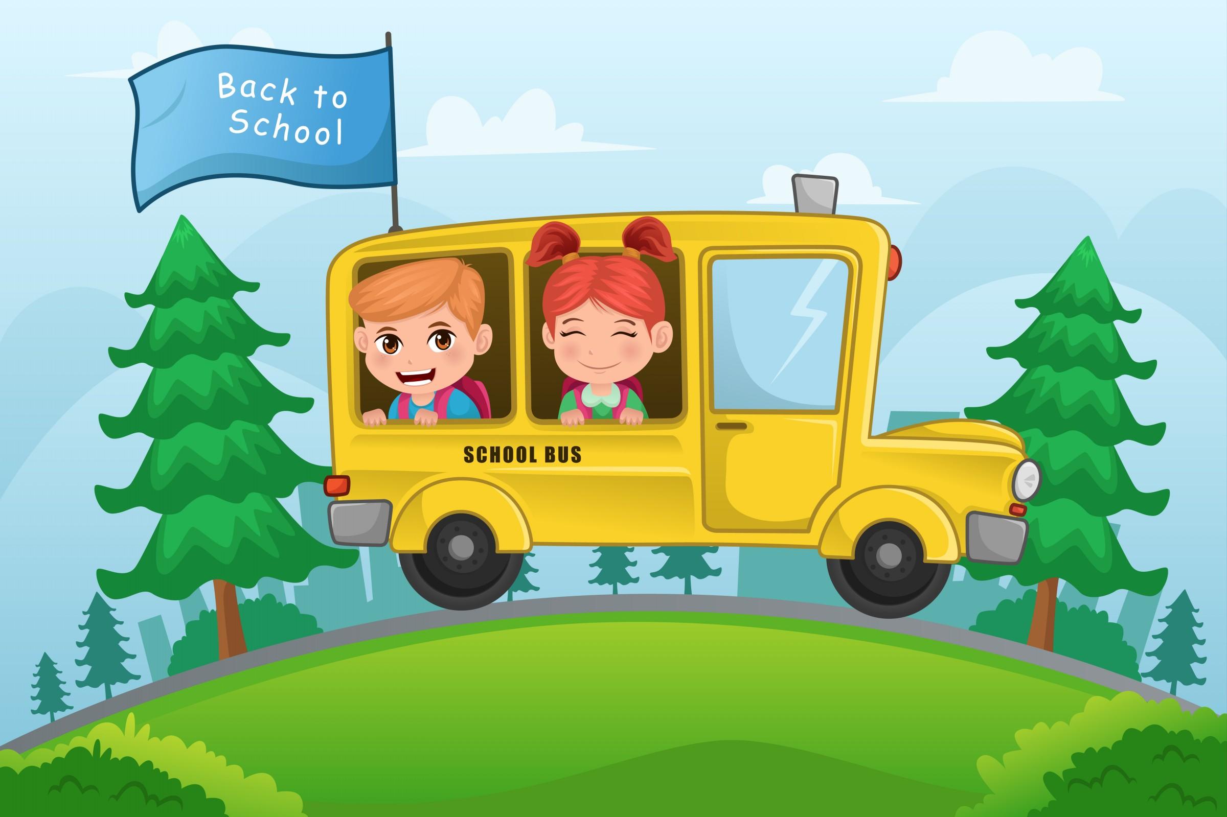 September 1 Back to School Bus Elsoar 2400x1599