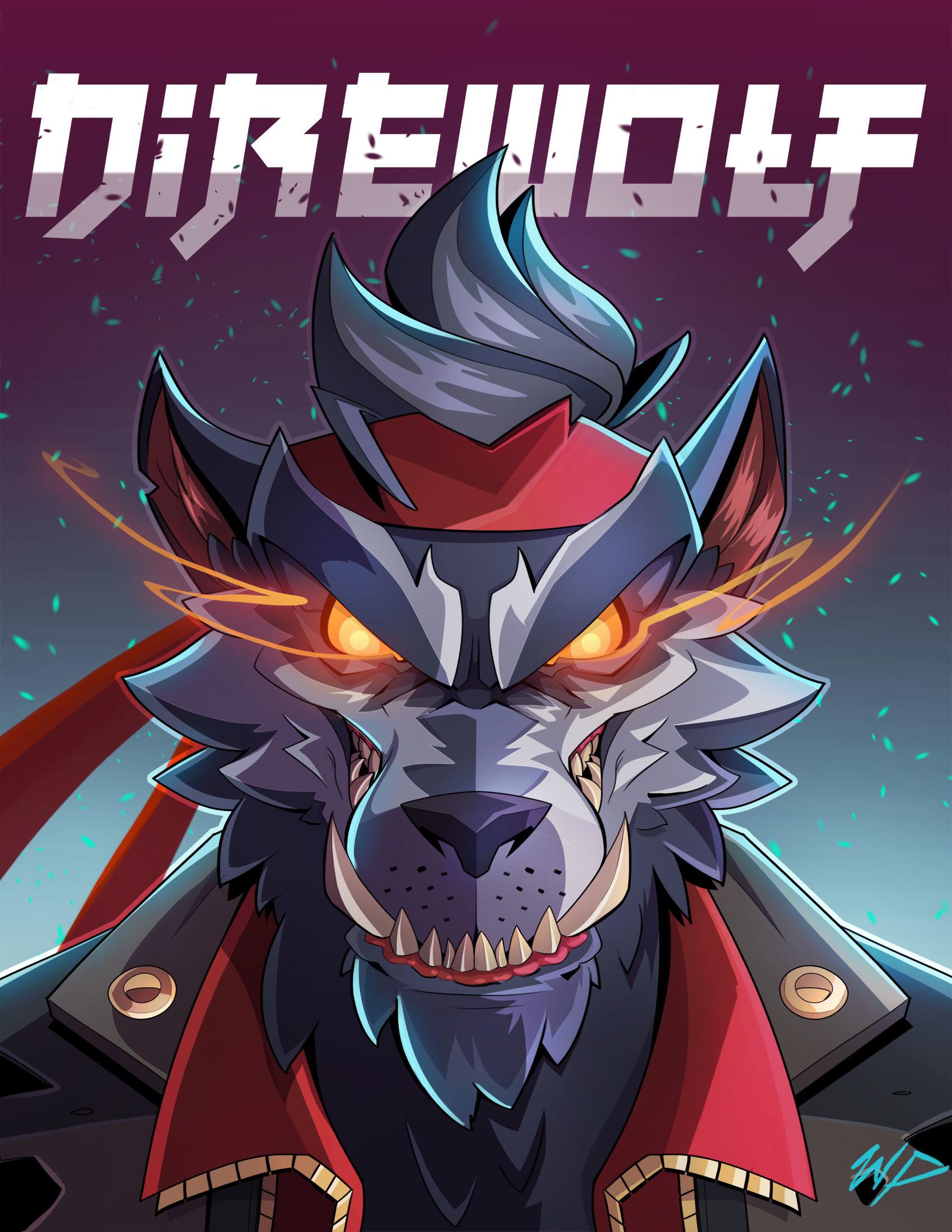 Fortnite Dire Werewolf Amazing Background by William Puekker 4412 1700x2200
