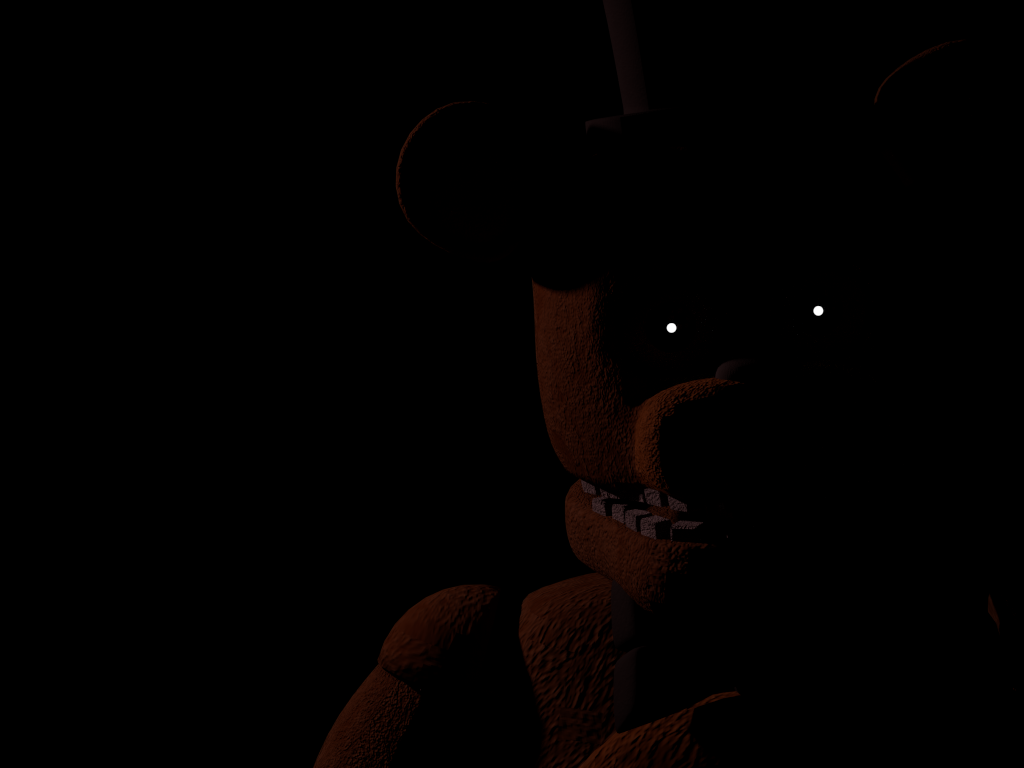 fnaf 2 freddy  in fnaf 3 menu by everythinganimations d8oc0qspng 1024x768