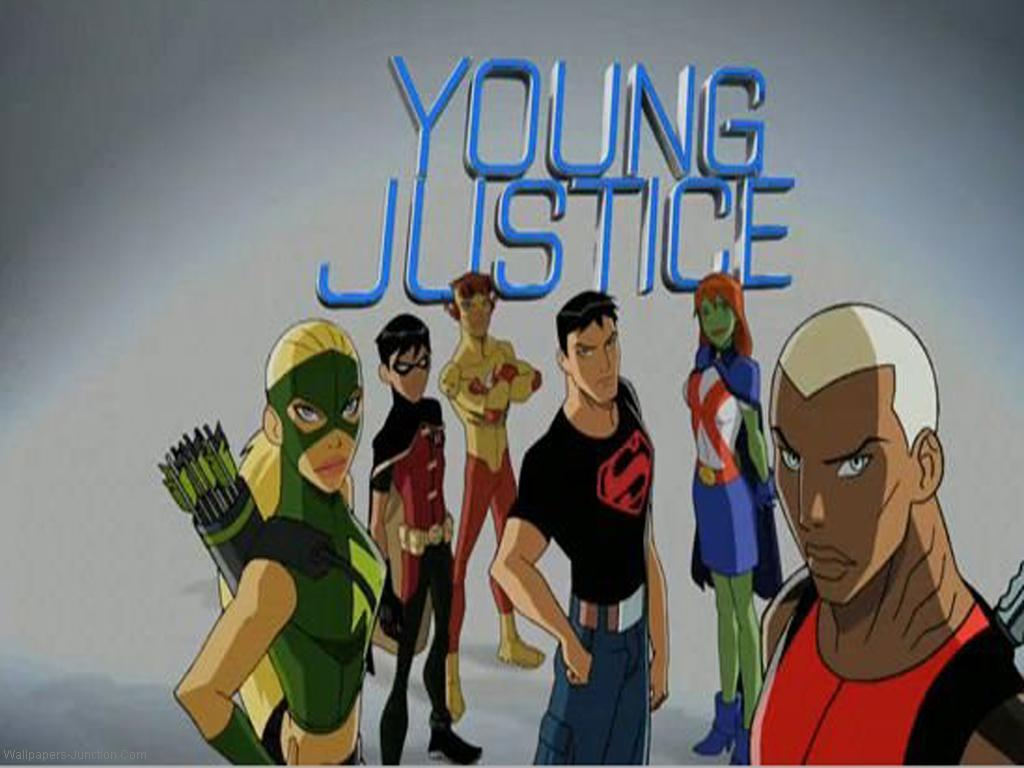 Young Justice Cartoon Network Wallpaper   Hot Girls Wallpaper 1024x768