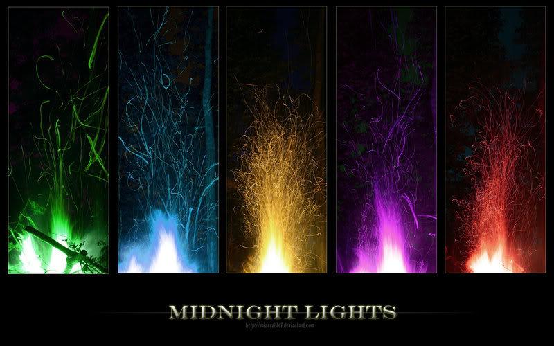 Midnight Lights Wallpaper 800x500