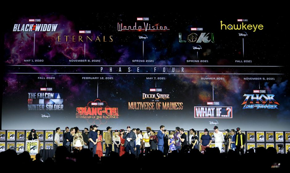 Every upcoming Marvel movie and TV show in MCU Phase 4 and beyond 940x563