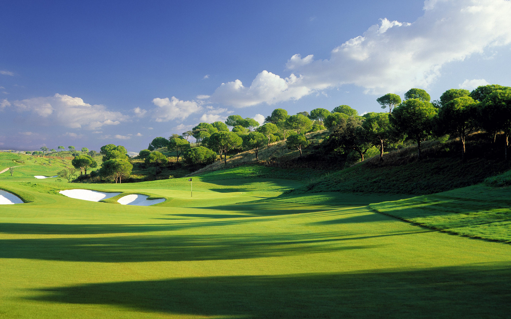 Golf Backgrounds 1680x1050