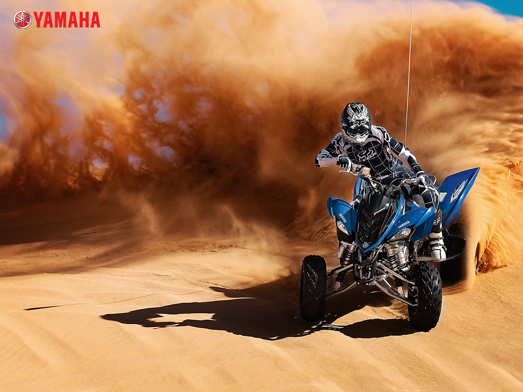 Yamaha ATV Wallpaper yamaha raptor in the sand wallpaper Used Four 1024x768