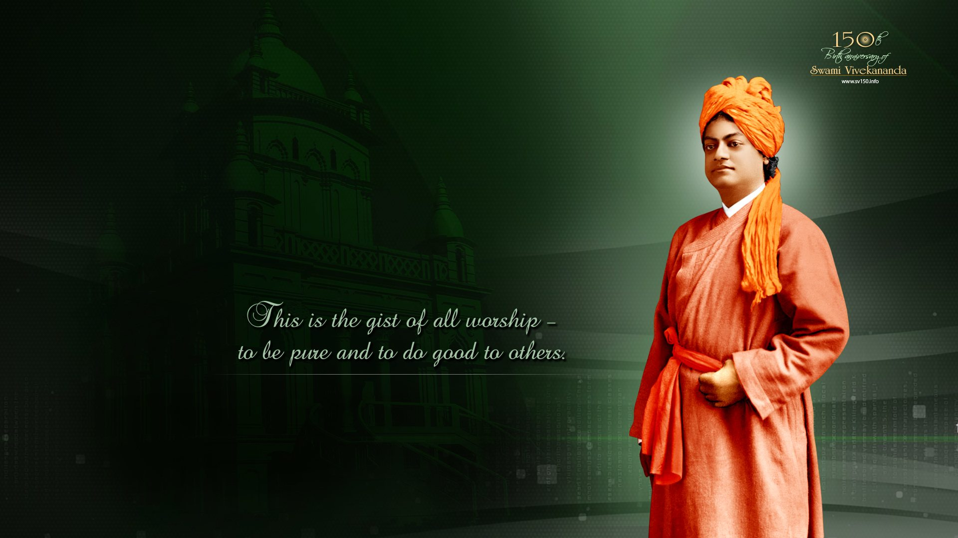 Swami Vivekananda Quotes Wallpapers HD Backgrounds Images Pics 1920x1080