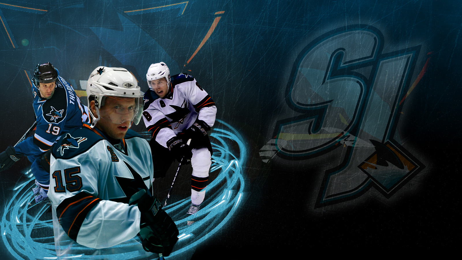 Hockey San Jose Sharks Trio Top 457804 With Resolutions 1600900 1600x900
