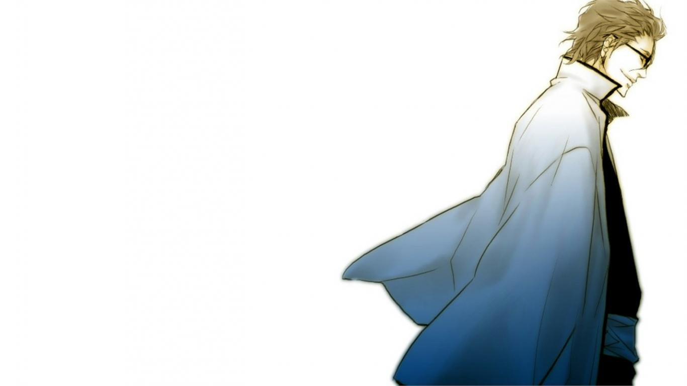 Download Hd Sosuke Aizen Pc Background Id   Ssuke Aizen 1393602 1366x768