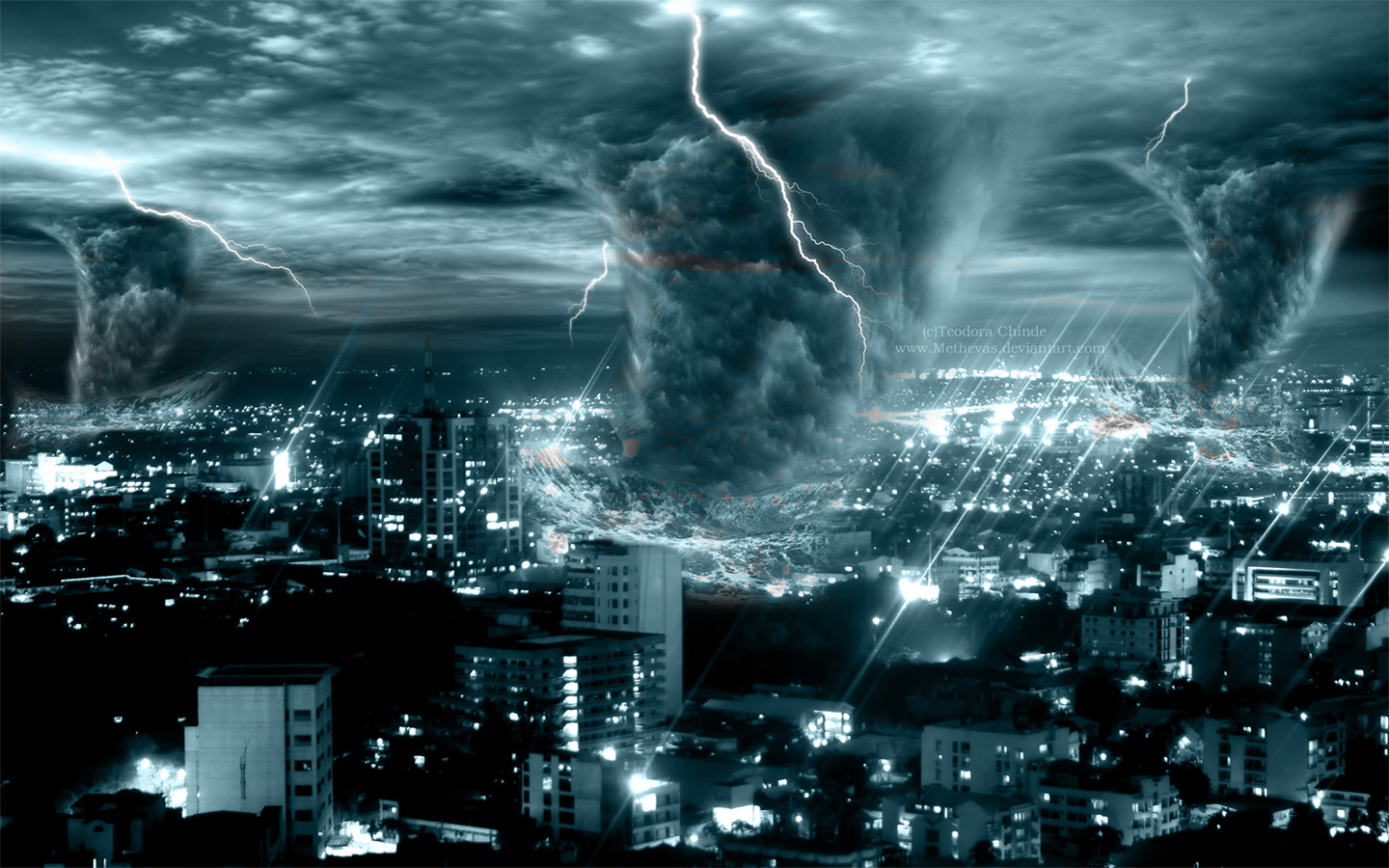 HD Storm Wallpapers 1440x900