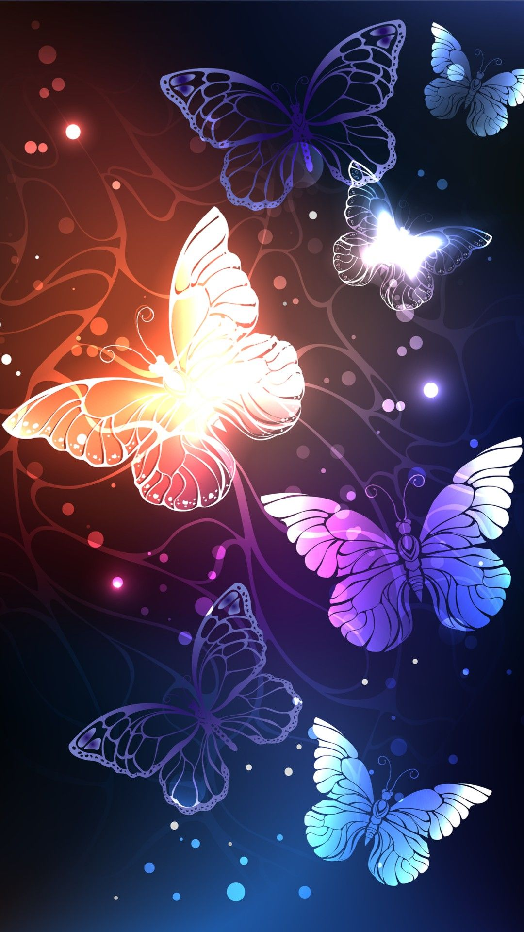 Butterflies WallpaperBy Artist Unknown Awesome in 2019 1080x1920