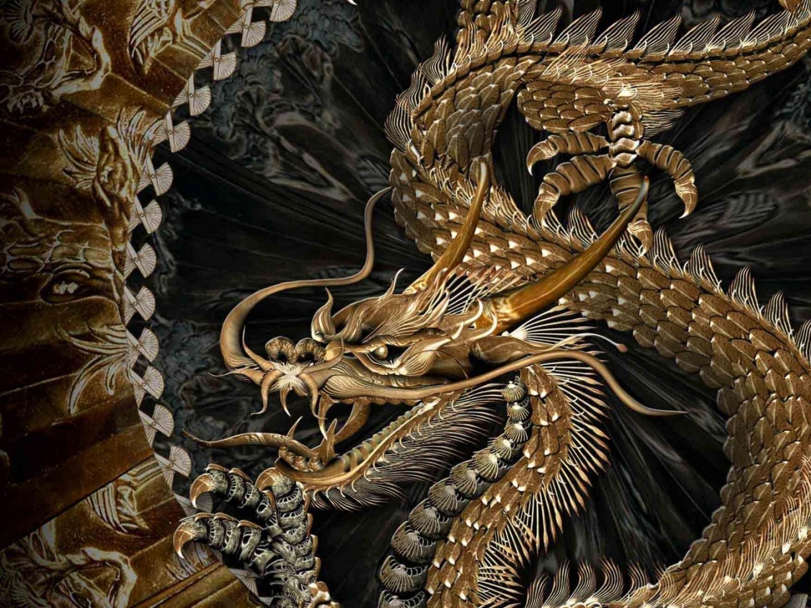 92 ] Chinese Dragons Wallpapers On WallpaperSafari