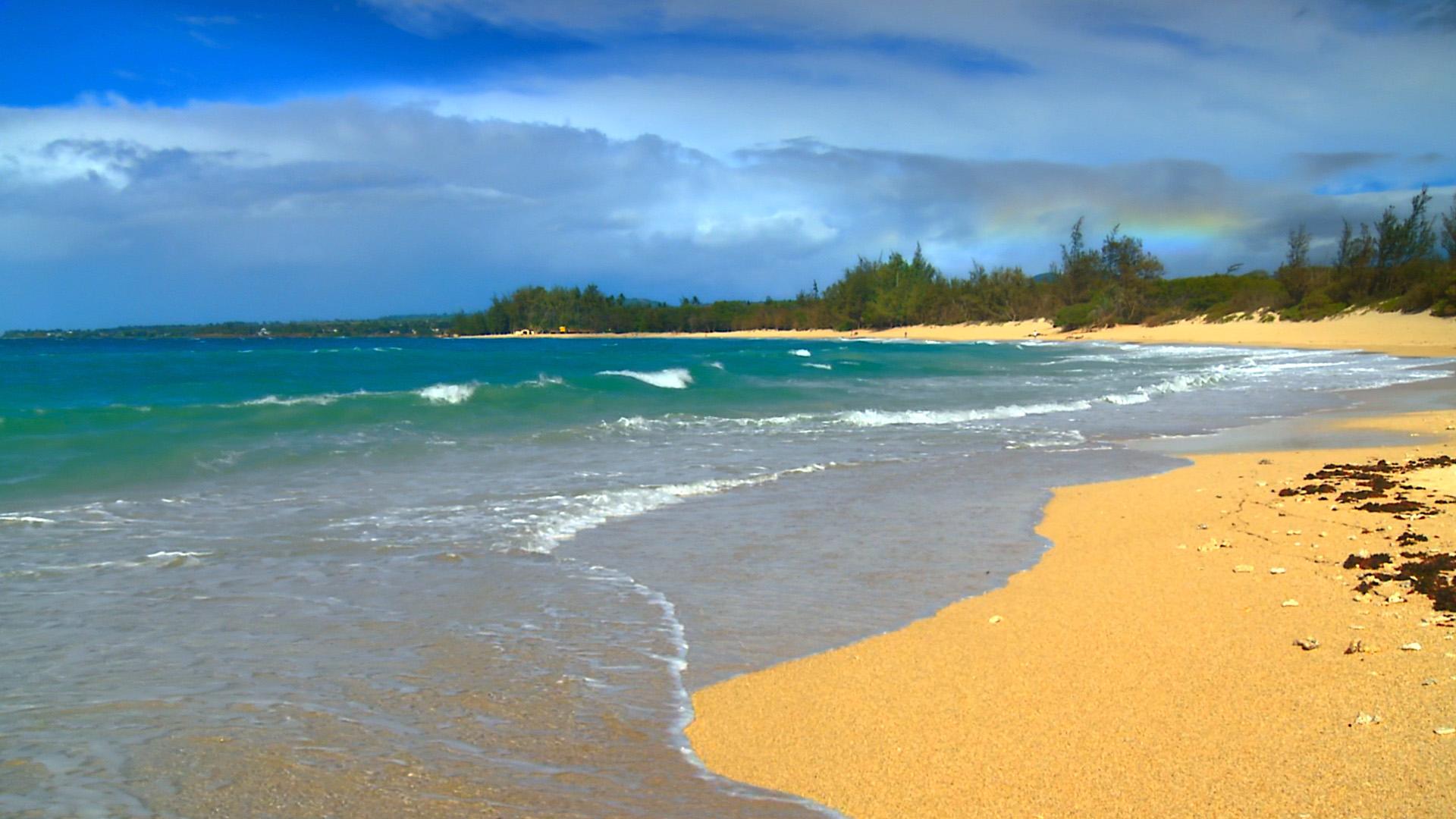 Ipad Wallpaper Beach Scenes: Free Hawaii Screensavers Wallpaper