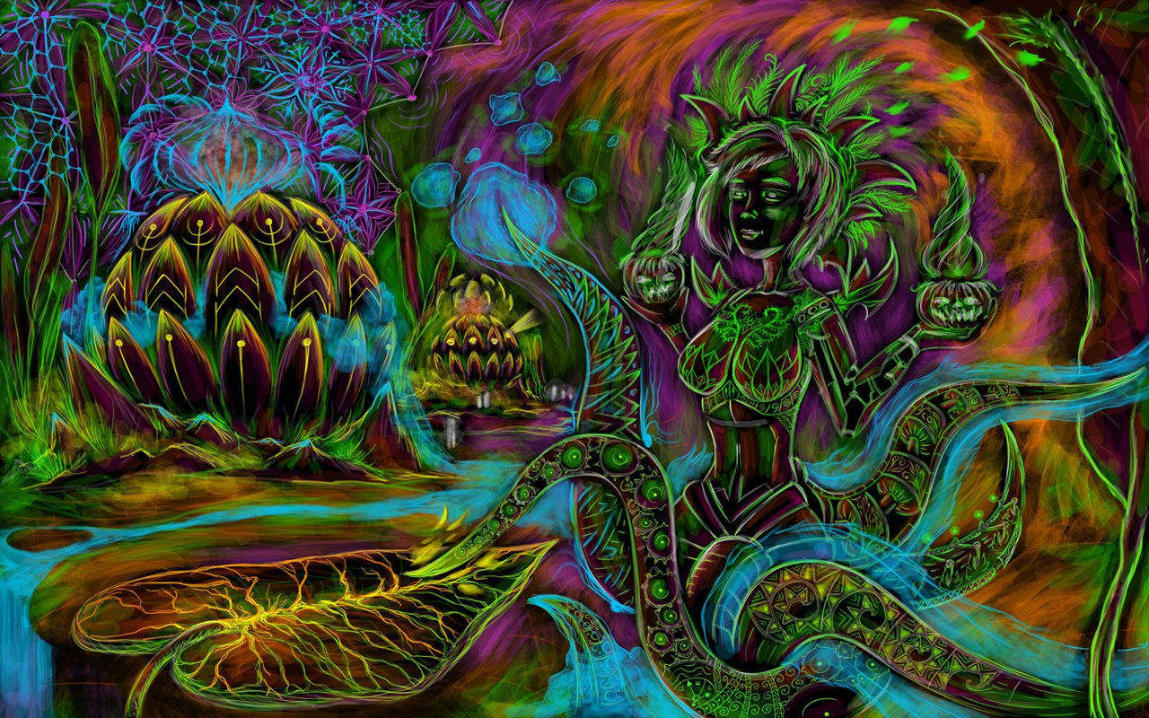 Youll find the psychedelic wallpaper and some close ups of it below 1280x800