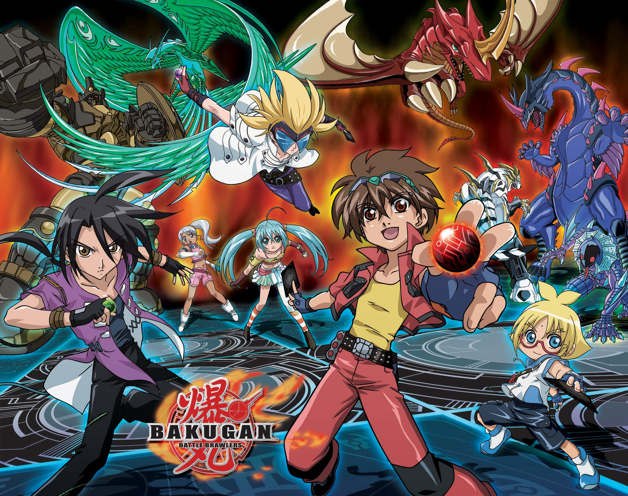 bakugan wallpaper wallpapersafari