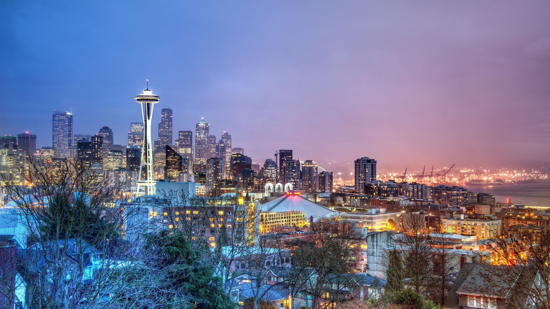 Seattle HD Wallpapers 1920x1080