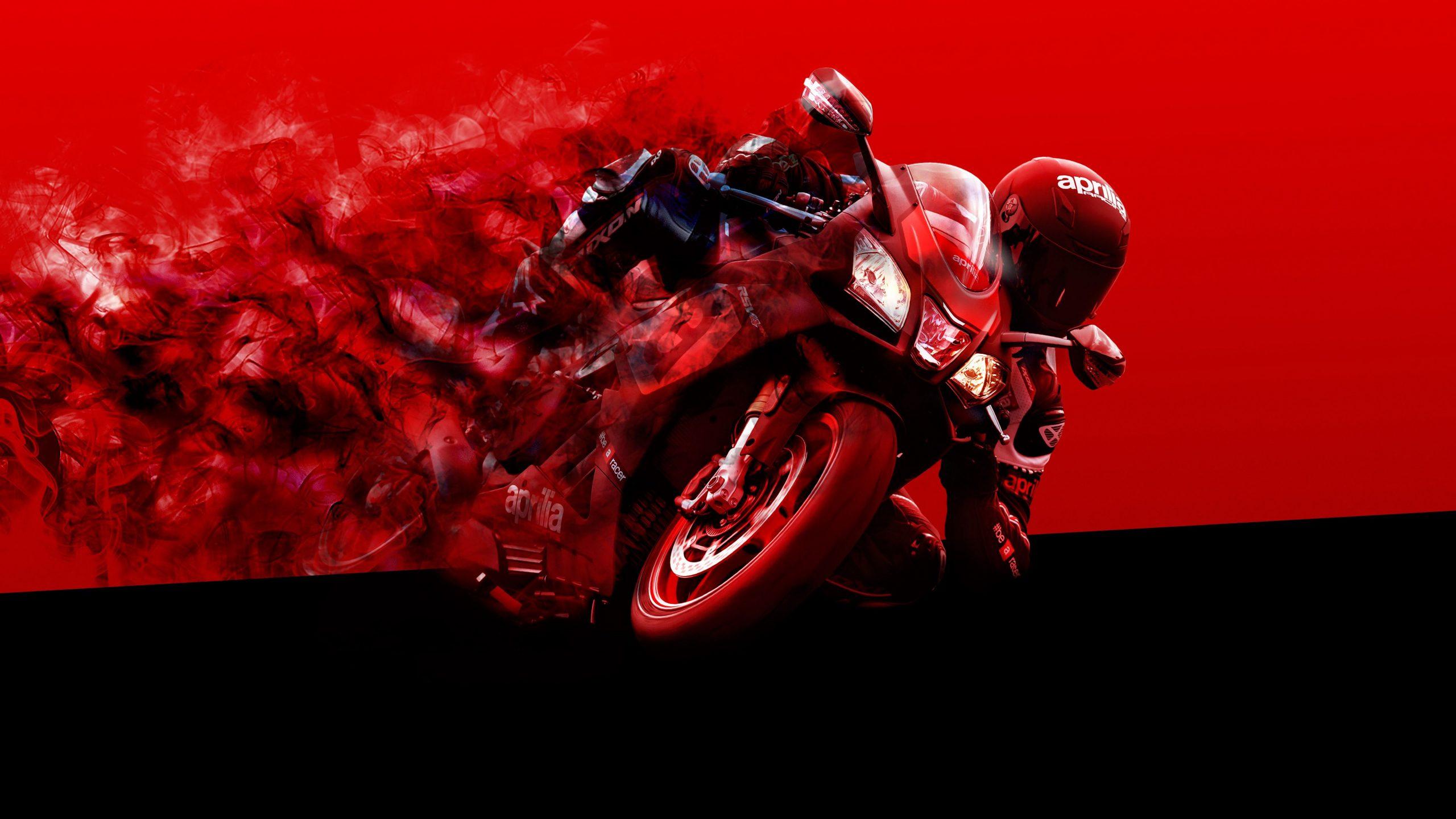 Aprilia Motorcycle [4K] Wallpapers BadAssHelmetStore 2560x1440