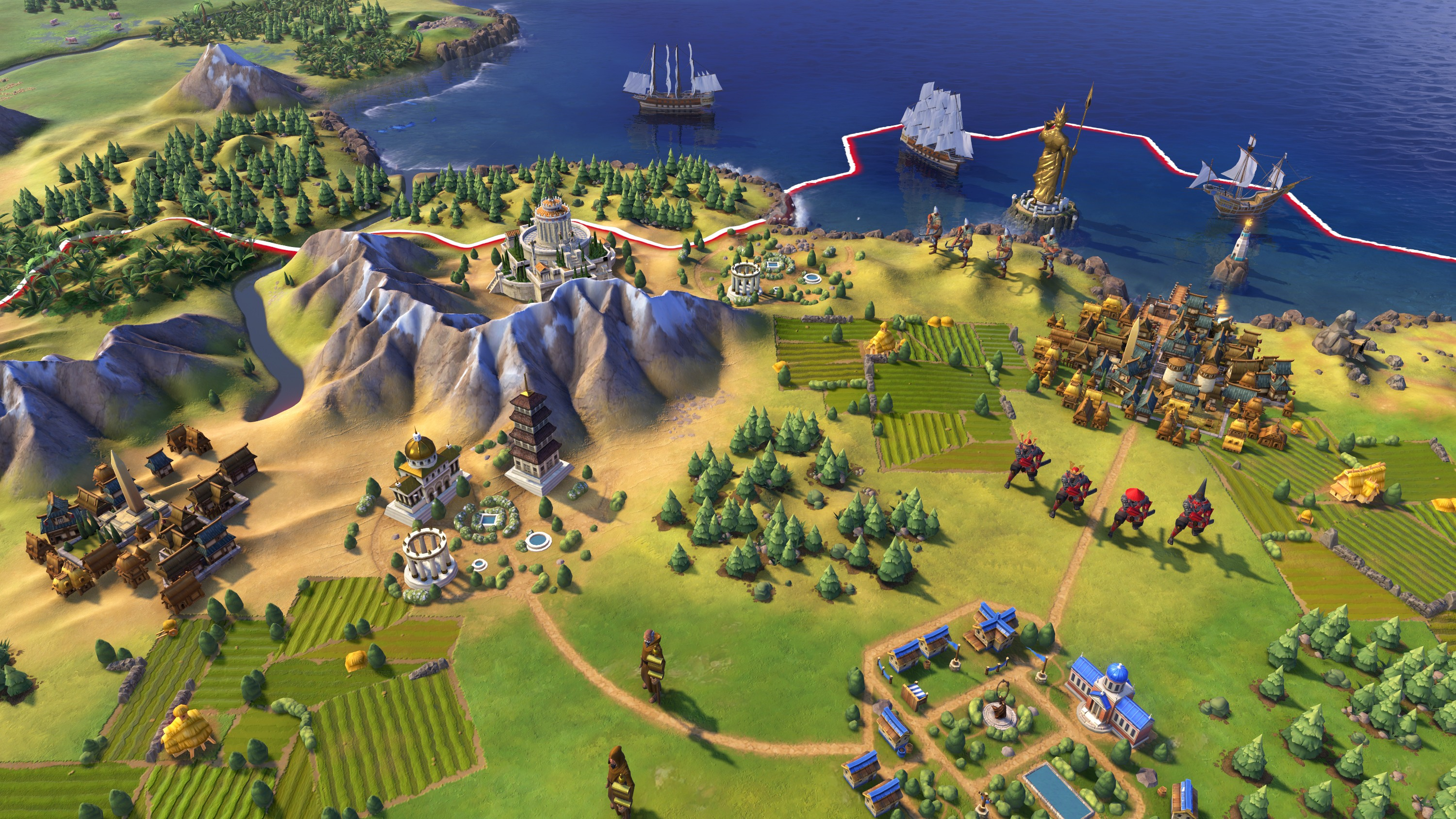 Civilization 6 Screenshots Pictures Wallpapers   PC   IGN 3000x1688