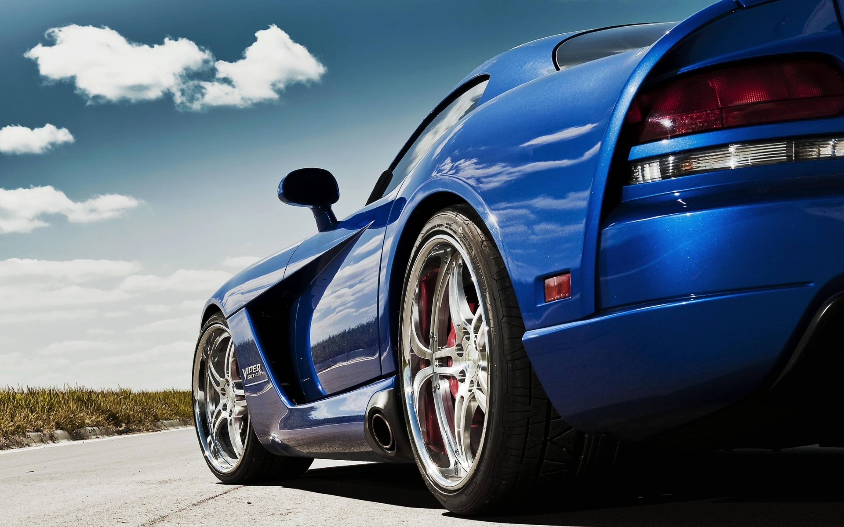 Dodge Viper Blue Car Wallpaper 7971 Frenziacom 2880x1800
