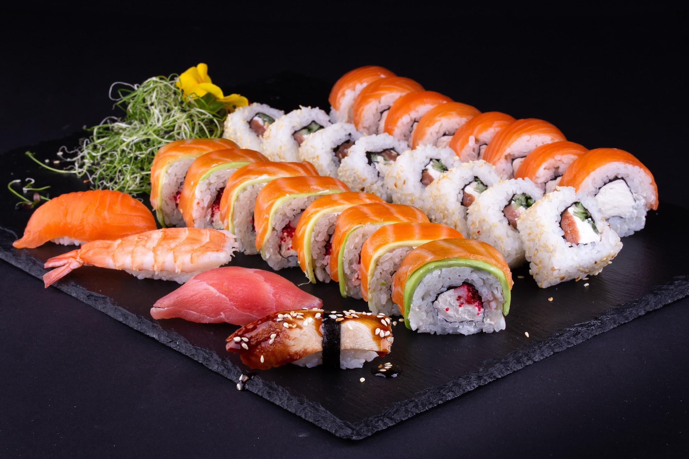 Fish Seafood Sushi Wallpaper   Resolution2208x1472   ID1169189 2208x1472