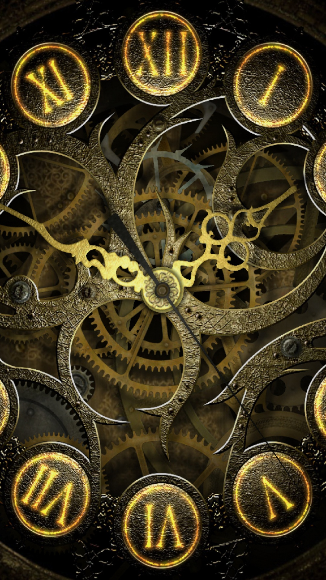 Steampunk Lockscreen iPhone 6 Plus HD Wallpaper iPod Wallpaper 1080x1920