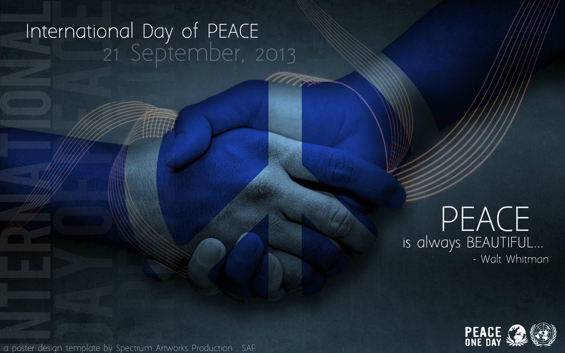 World peace day essays 1920x1200