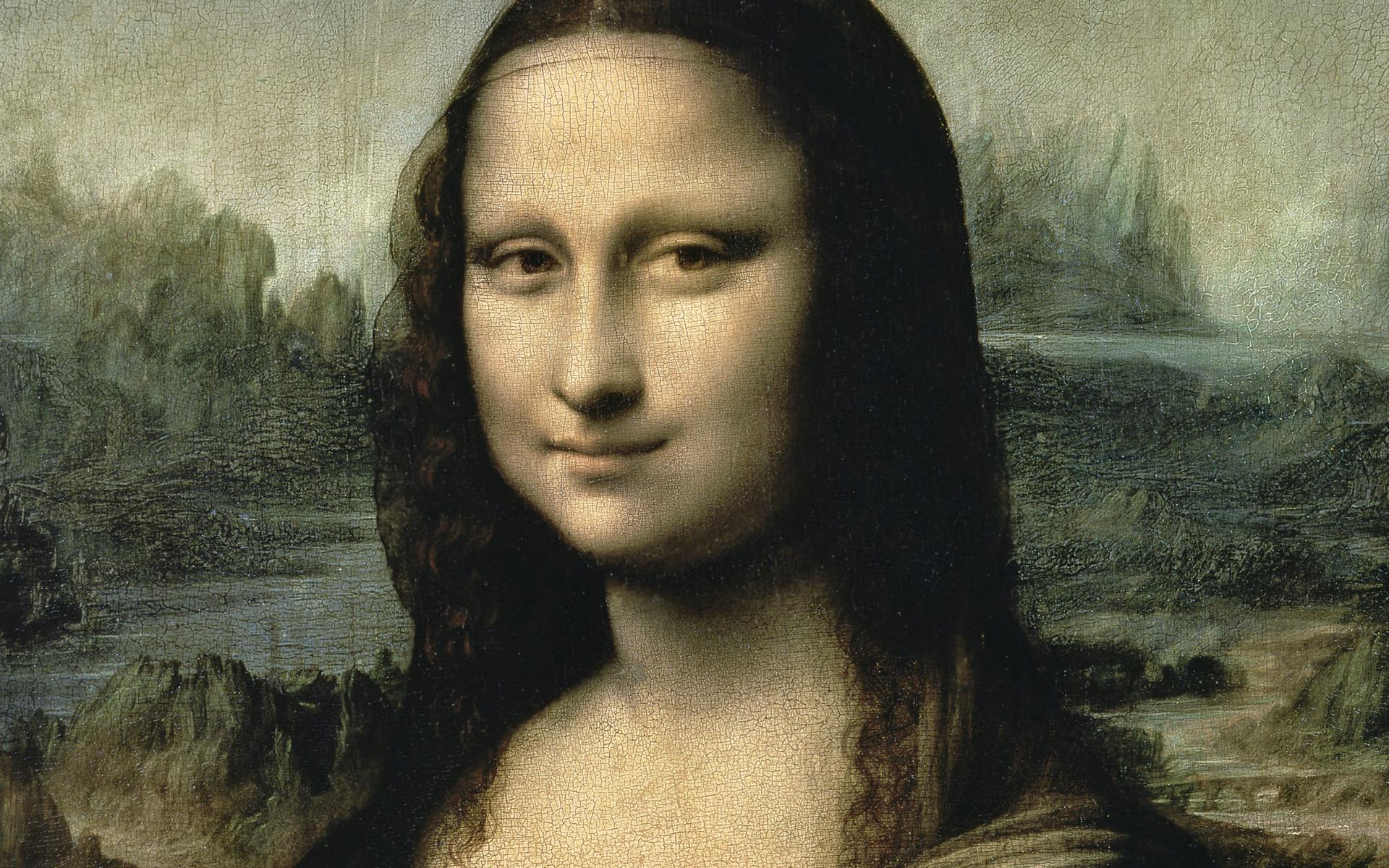 Mona Lisa Wallpaper Art Painting Art Wallpaper 1920x1200