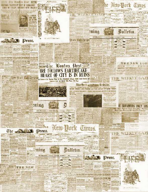 Newspaper Wallpaper 589x762