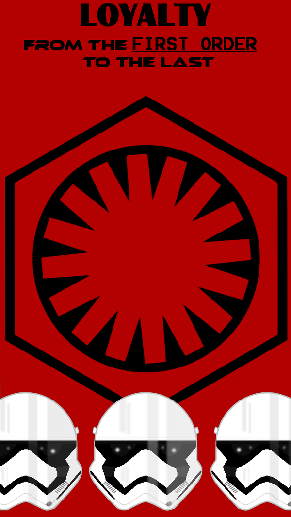 First Order IPhone 5 Wallpaper by Ahsokafan100 600x1065