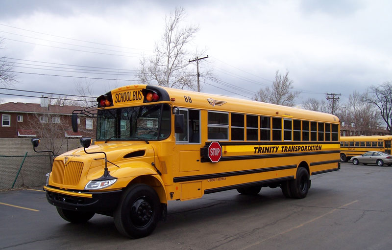 School Bus Rental Private School Bus Company Michigan 800x511