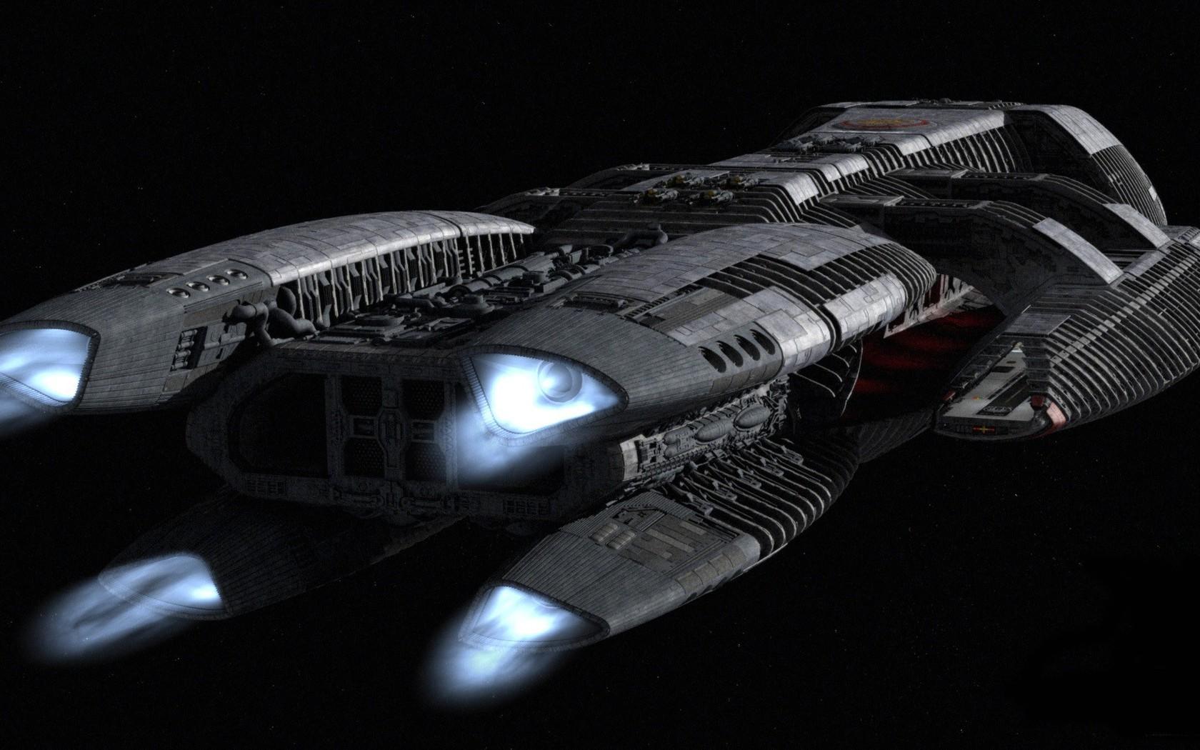 Spaceship wallpaper 5269 1680x1050