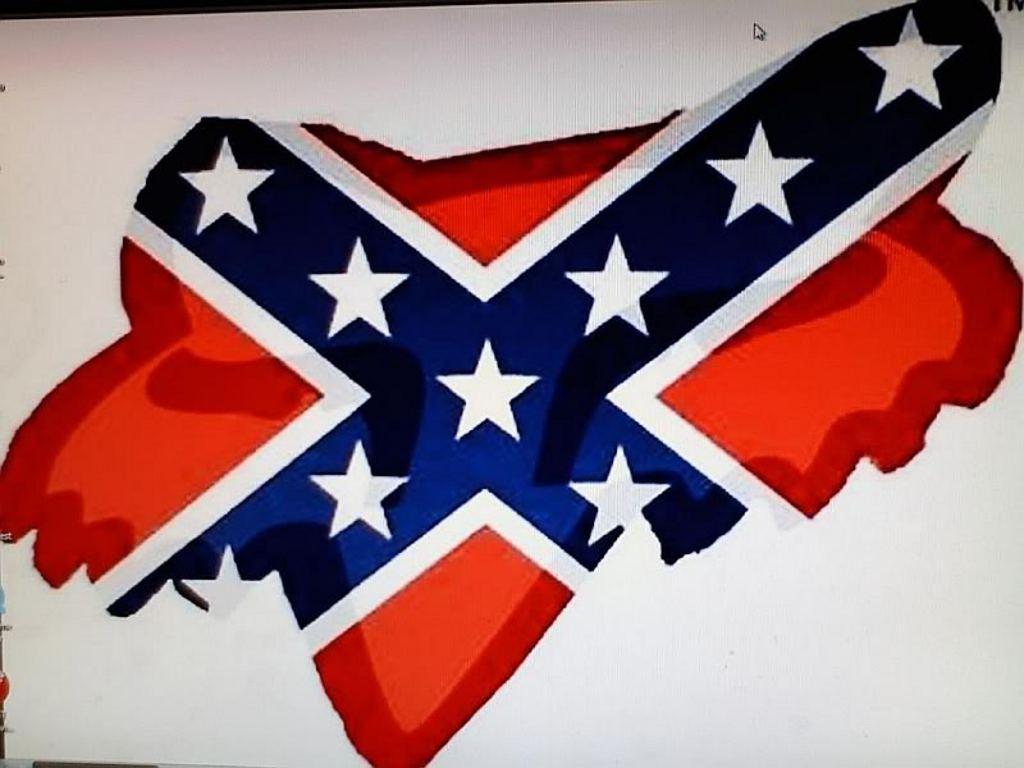 Hardcore rebel flag