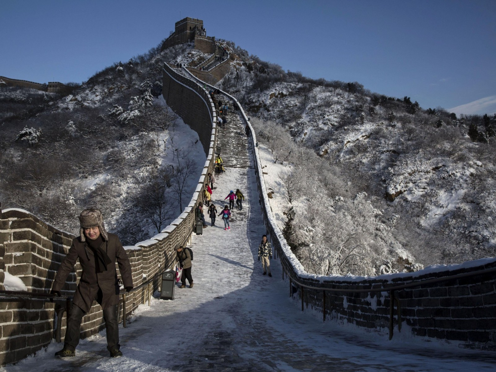 Great Wall of China Collapse Poor Renovation Works And Heavy 1600x1200