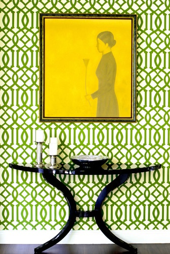 Green Imperial Trellis available at walnut wallpaper wallpaper 336x500