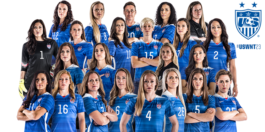 United States roster for 2015 FIFA Womens World Cup full of US 900x450