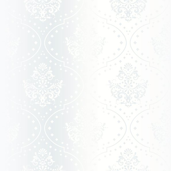Vector Flower Black White Background Wallpaper: Bright White Wallpaper