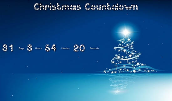 christmas countdown wallpaper - photo #11
